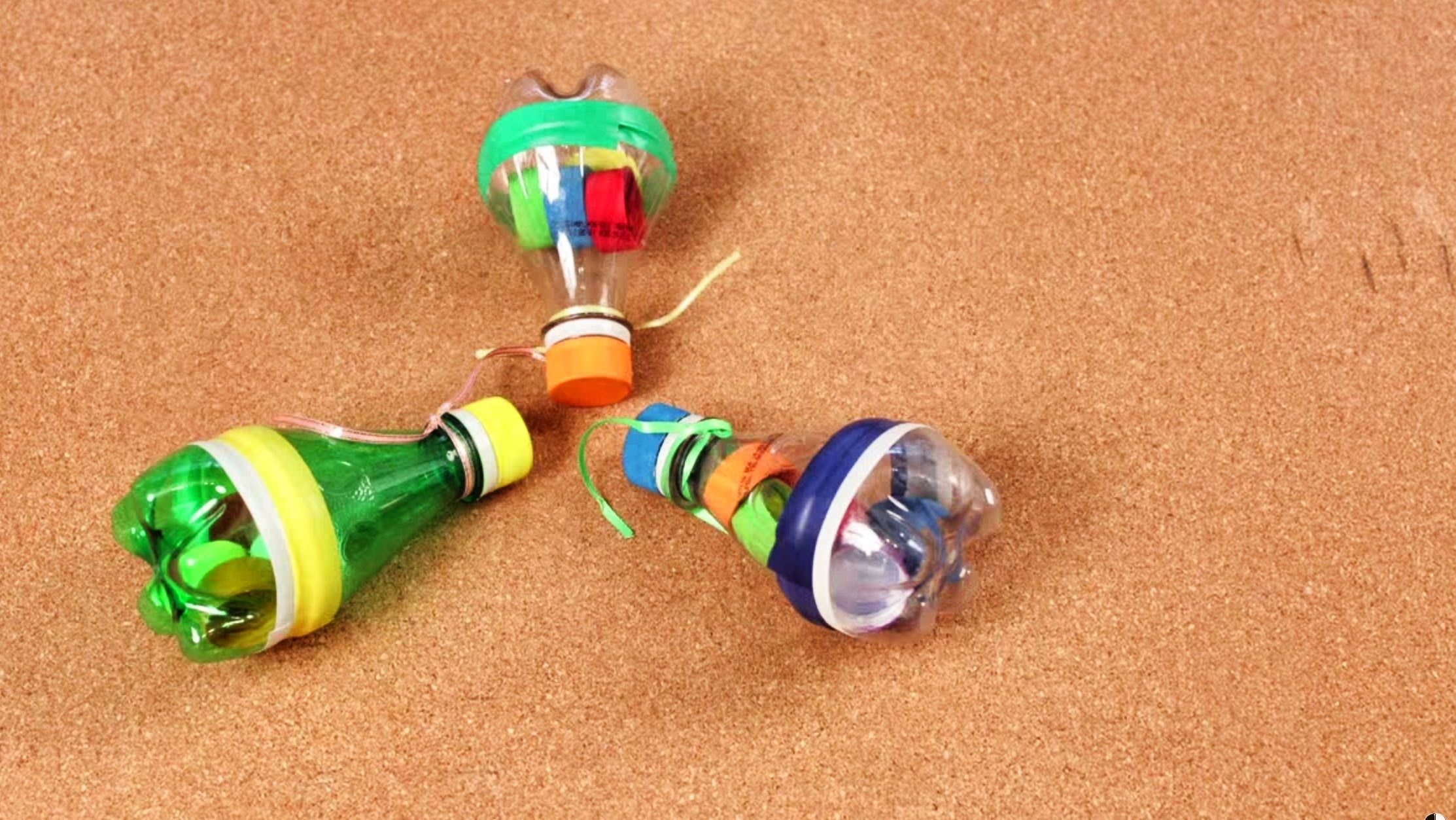 Como Hacer Una Maracas Musicales Con Botellas De Plástico