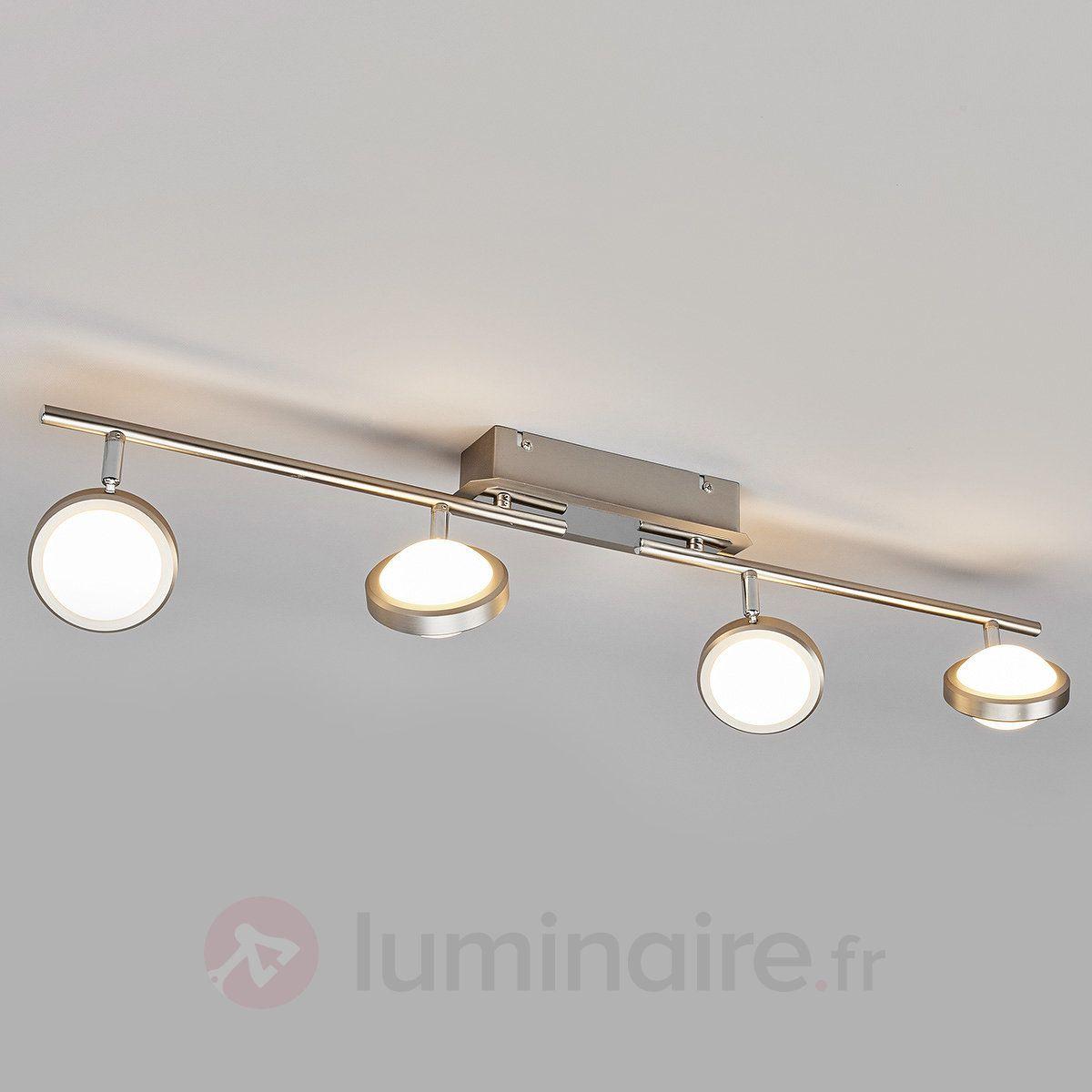 Manja Plafonnier LED  quatre lampes