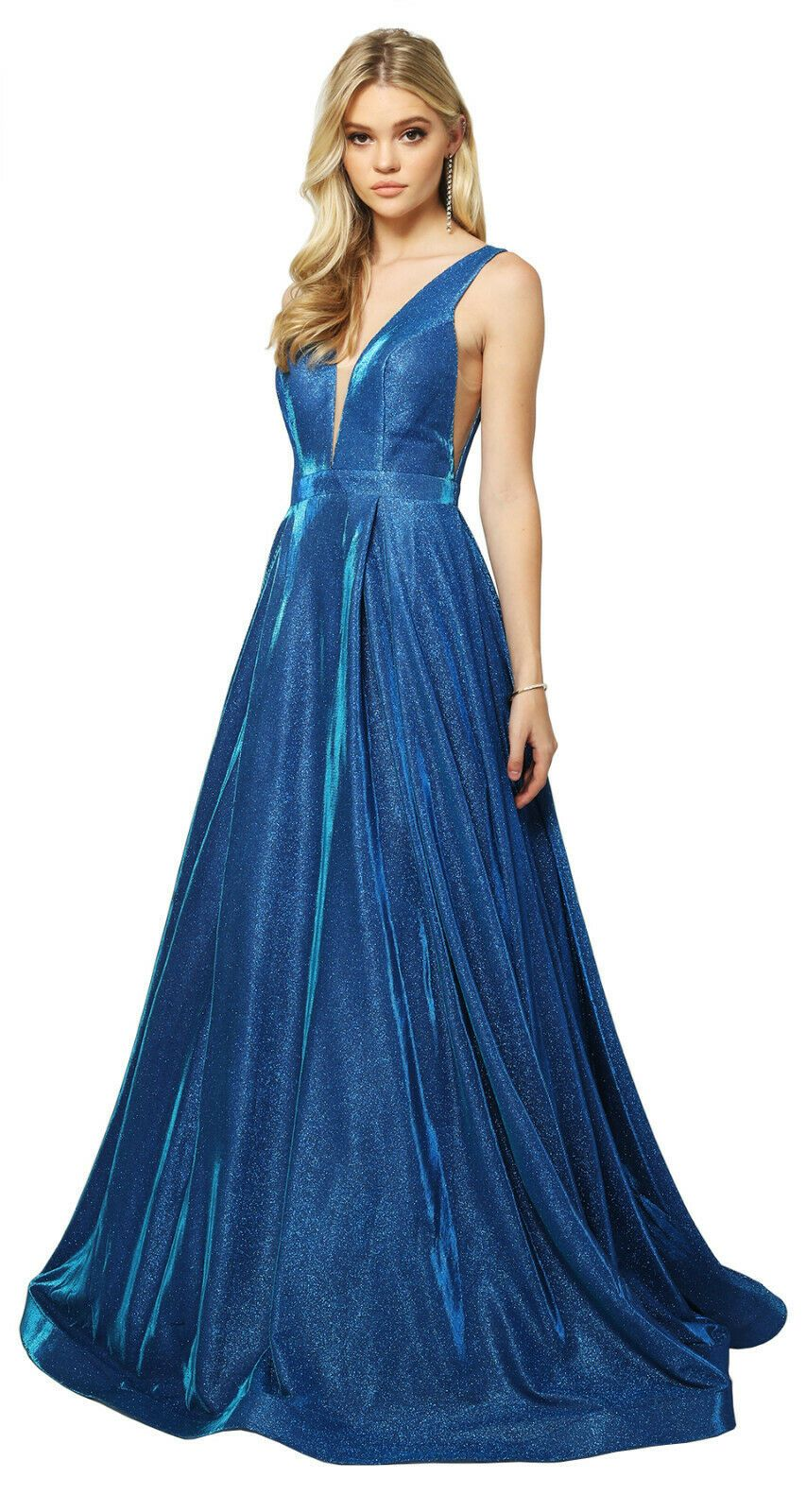 SALE STRETCHY PROM DANCE DRESS FORMAL PAGEANT RED CARPET EVENING GOWN GALA PARTY