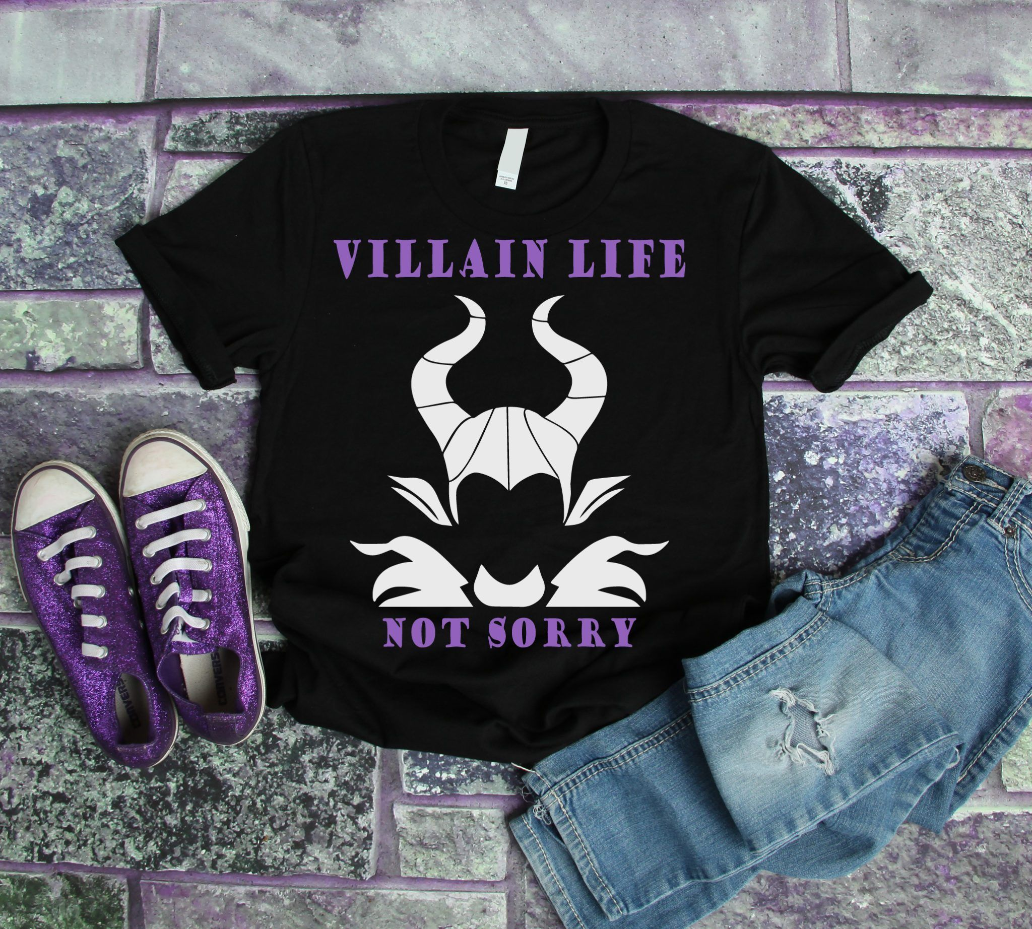 Disney SVG Villain Maleficent Not Sorry Disney villain