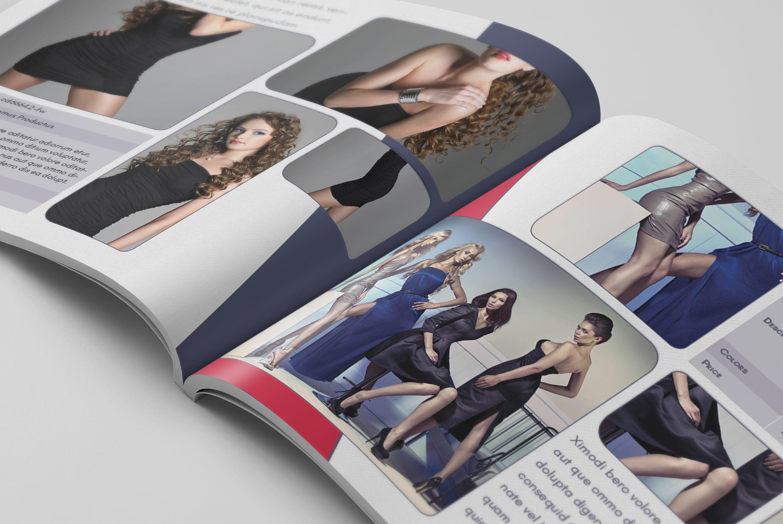 Product Catalog Template – US Letter Landscape | Design Haven ...