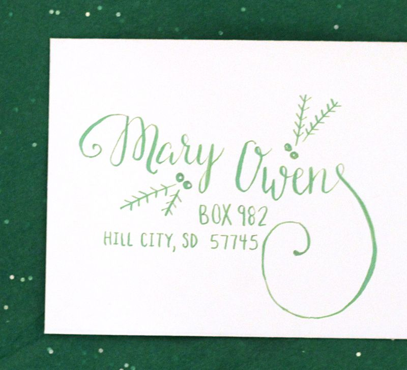 Christmas New Address Cards | Arts - Arts