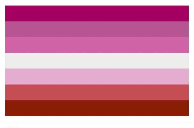 The beautiful lesbian flag sapphoria Pinterest
