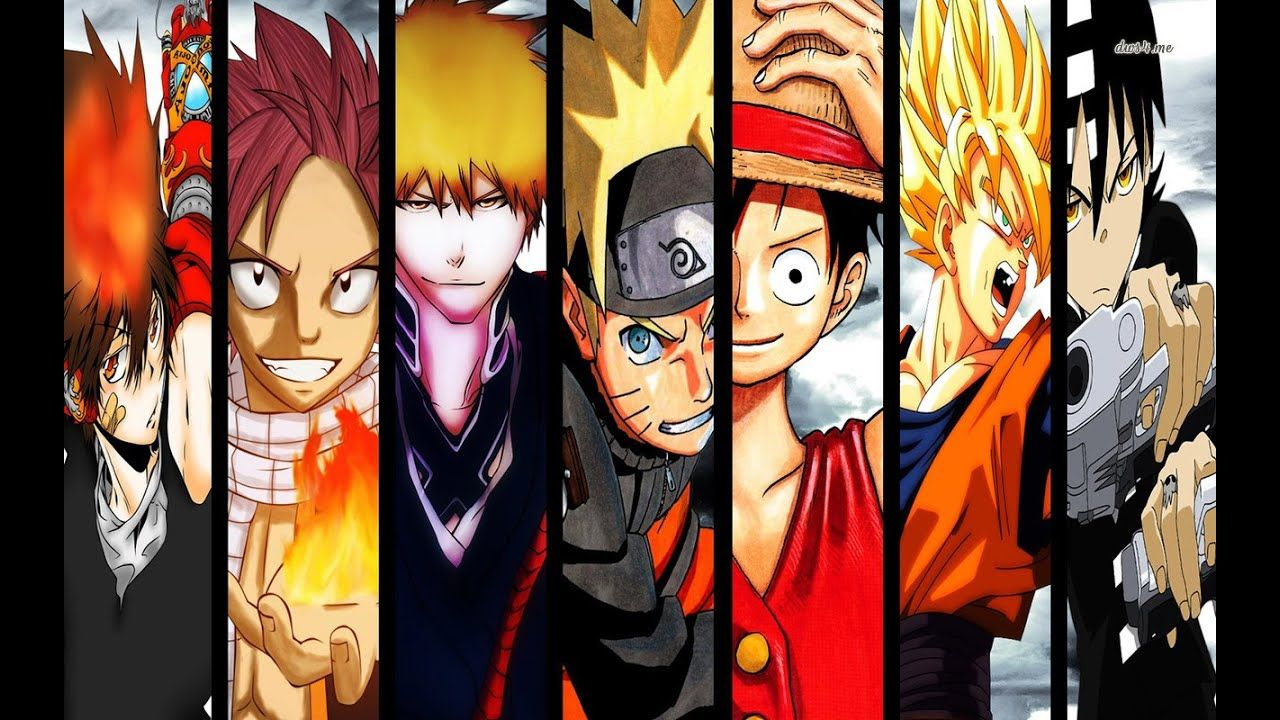 Top 10 Best Shounen Anime Of All Time All Anime Characters Anime Anime Wallpaper