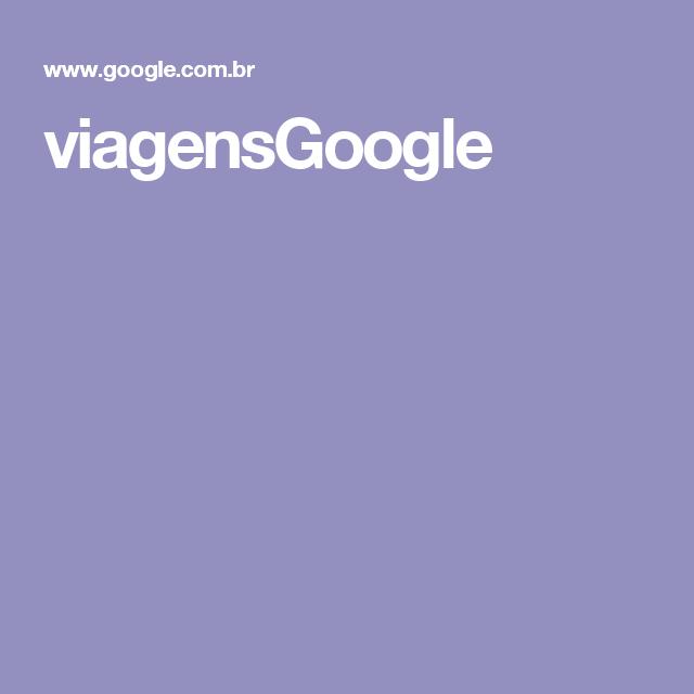viagensGoogle