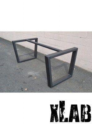 Gambe in ferro anticato per tavolo fatte a mano design i for Gambe per tavoli