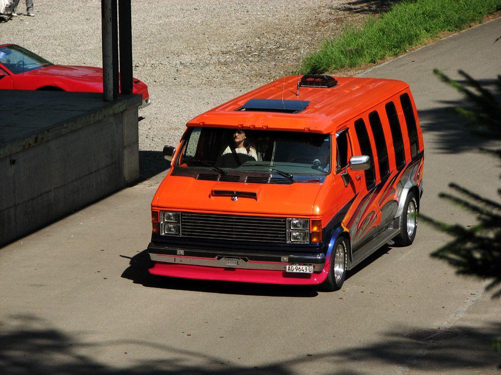 70s Custom Van Drawing   custom van. by AmericanMuscle