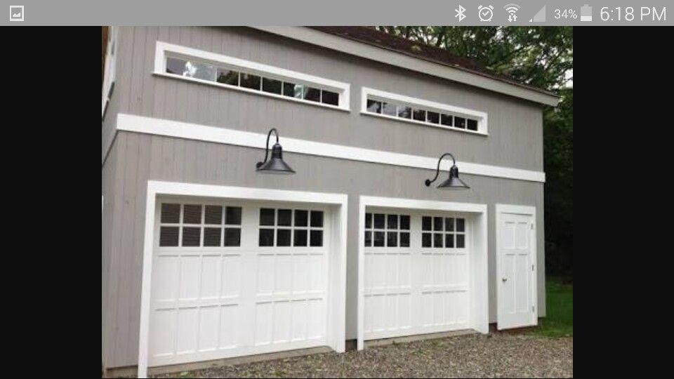 light above garage door burnbox lights above door house garage pinterest doors and