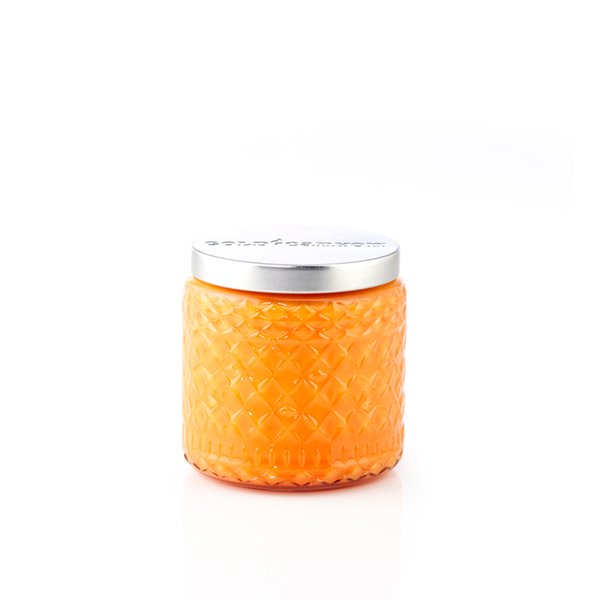 Medium Coconut Mango Heritage Scented Jar Candle Tropical Sweet Fresh Notes Of Coconut Milk Mango Citru Scented Candle Jars Candle Jars Scented Candles