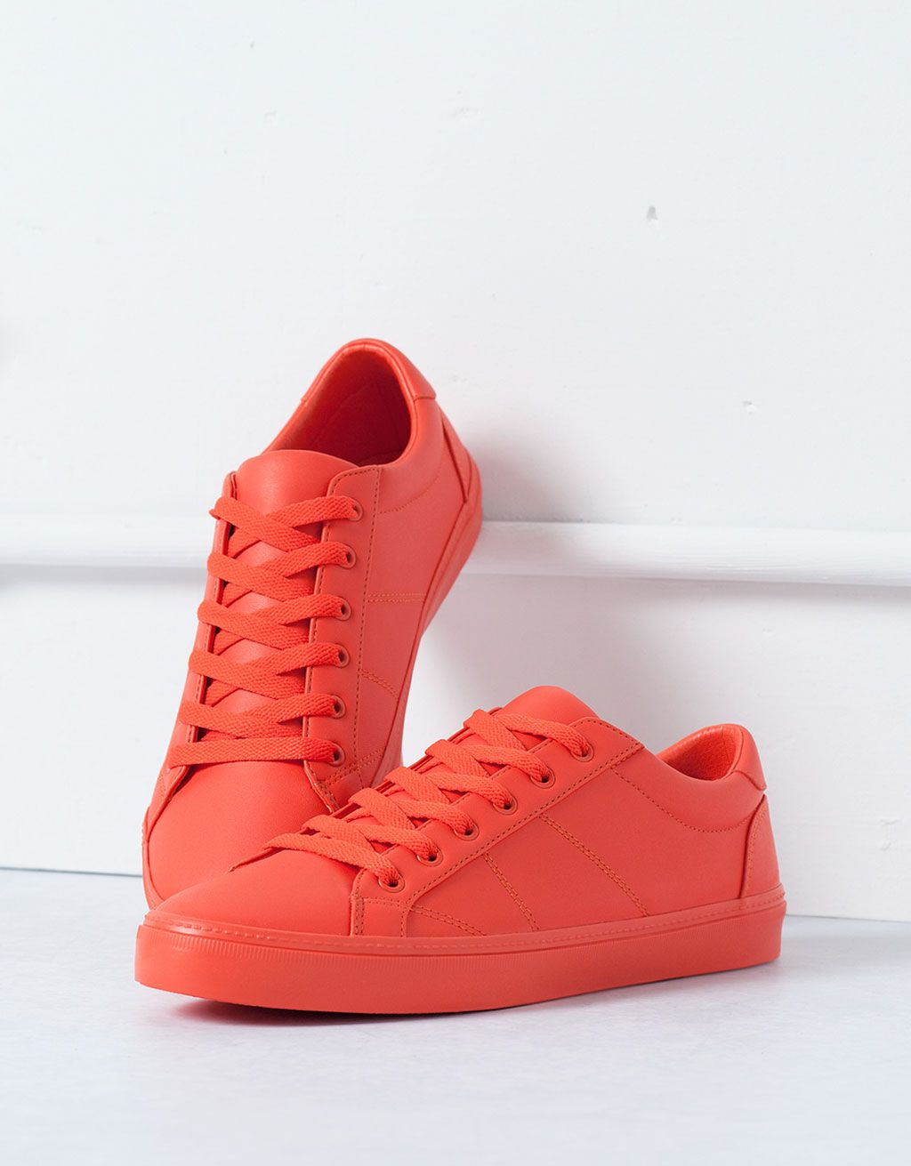 Bershka Colombia - One-colour sneakers 24a36d3a5