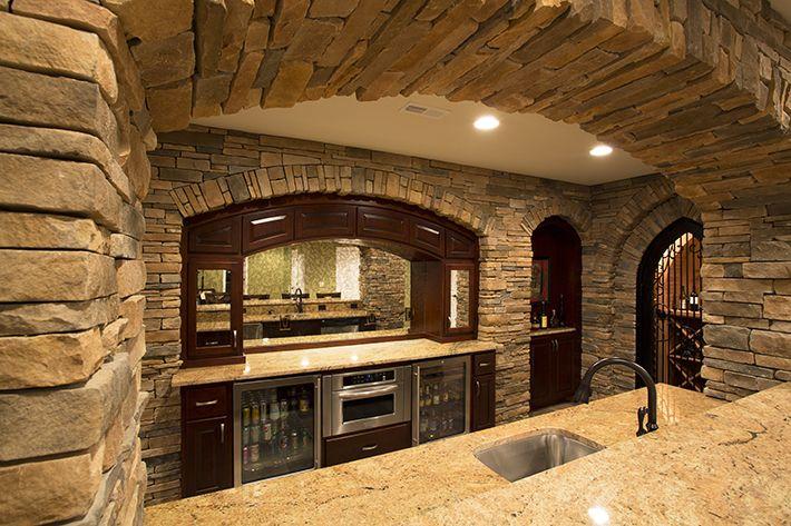 Stone Bar Wine Cellar Basement Bar Plans Basement Bar Designs
