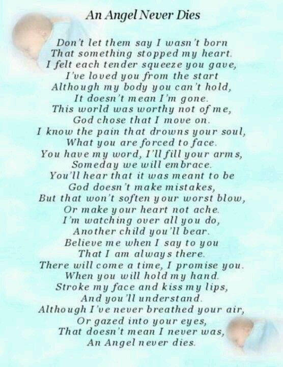 An Angel Never Dies Blue Baby Boy Bereavement Grave Card Memorial