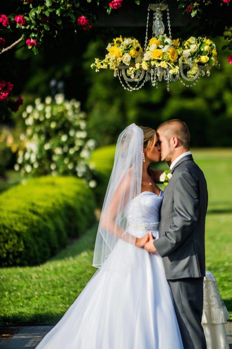Rose Garden wedding ceremony in May 2014 at Norfolk