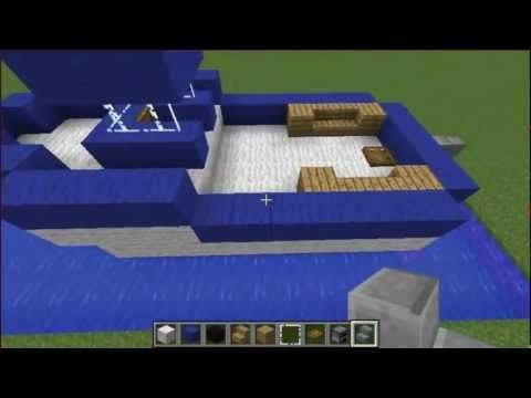 Minecraft Tutorial: How To Build A Motor Boat - YouTube | minecraft ...