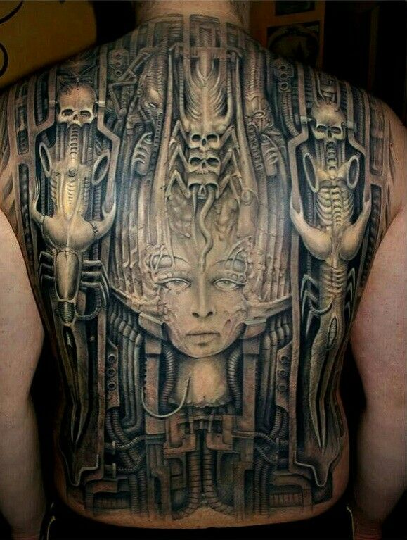 H.R.Giger & Geryboy Tattoo co. | Geryboy Tattoo Art ...