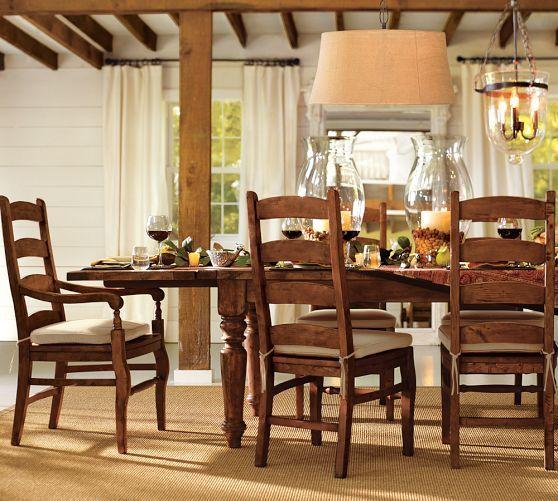 Sumner Extending Table U0026 Wynn Chair Set | Pottery Barn