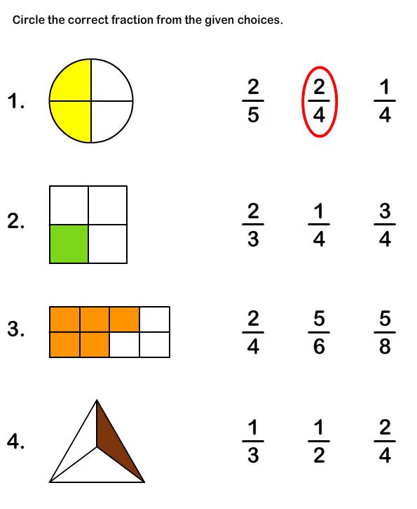 Pin By Akira Tanaka On Educational Worksheets For Kids Fractions Worksheets Math Fractions Worksheets Fractions