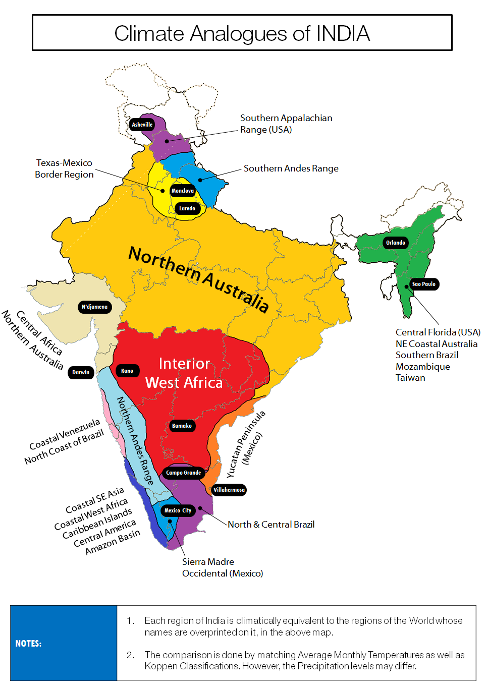 Climate analogues of india history in maps pinterest climate analogues of india gumiabroncs Images