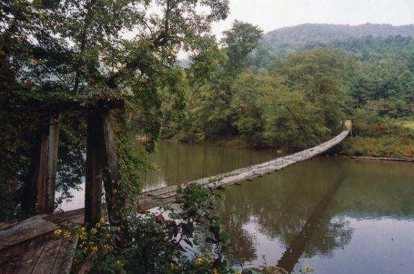 Elk River Footbridge West Virginia West Virginia Mountains West Virginia History Chesapeake Bay Bridge