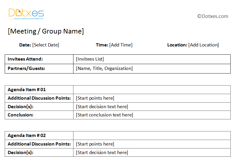 General-Meeting-Minutes-Template-With-Table-Format-(1.1)-Featured ...