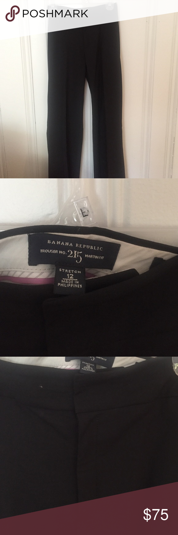 Banana Republic, Martin Fit trousers, size12, VGUC Banana Republic, size 12, Martin Fit trousers, VGUC - no Rea signs of wear, they've just been in storage, I have matching blazer- make me an offer! Banana Republic Pants Trousers