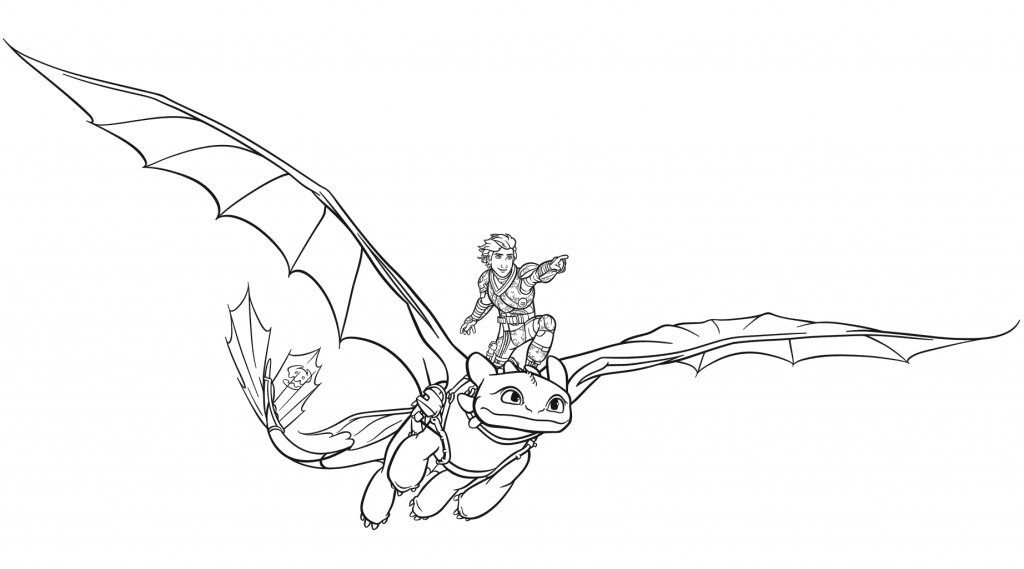 Toothless Coloring Pages | Dragon coloring page, Coloring ...