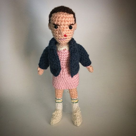 Stranger Things Eleven Amigurumi Crochet doll Pattern | Muñecas y Tejido