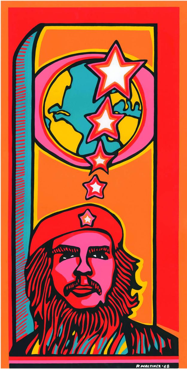 Che - 1968 - Raul Martínez | 18 Cuban Propaganda Posters From The '60s And '70s