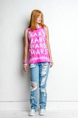 Pink Tie Dye Tank | Thirty Seconds To Mars Store