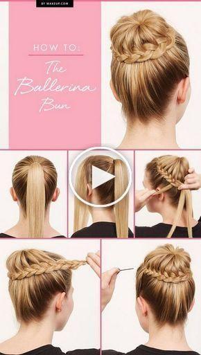 Chignons rapides et faciles pour les cheveux longs et épais - Nouvelles coiffures de cheveux ...
