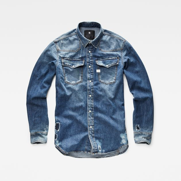 the cheapest great look top brands 3301 Shirt | Men's fashion | Pinterest | Camisa caballero ...