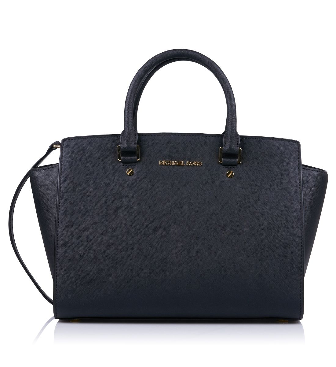 michael khors handbag black sac main noir selma. Black Bedroom Furniture Sets. Home Design Ideas