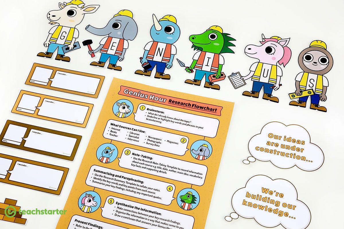 Coming Soon A Printable Genius Hour Teaching Resource