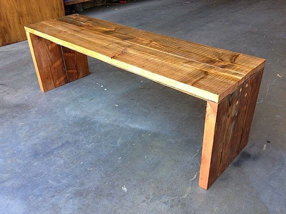 San Francisco: Reclaimed Wood Bench $300   Http://furnishlyst.com/