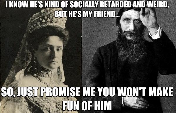 Tsarina Alexandra Stop Killing Rasputin Russian Nobles You Know