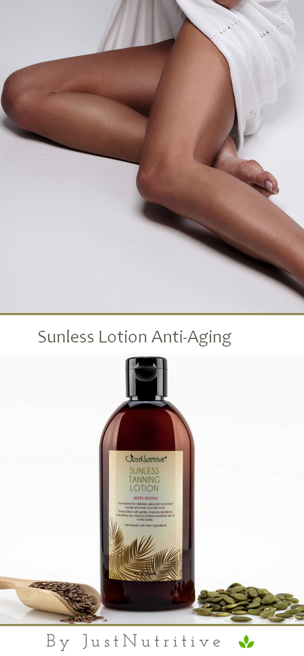 Sunless Tanning AntiAging Just Nutritive Just