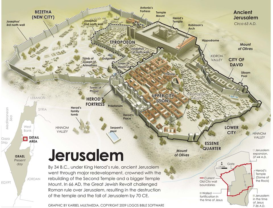Location Of The Temple Of Jerusalem Jeruzalem Vira A Stari