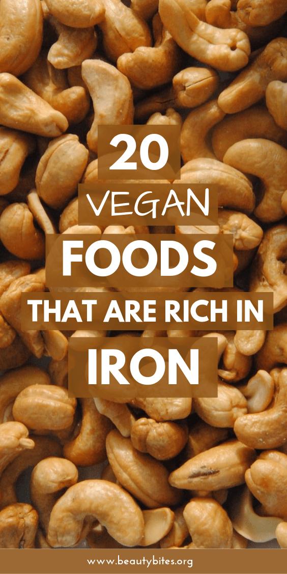 20 IronRich Foods That Are Vegan & Vegetarian Iron rich