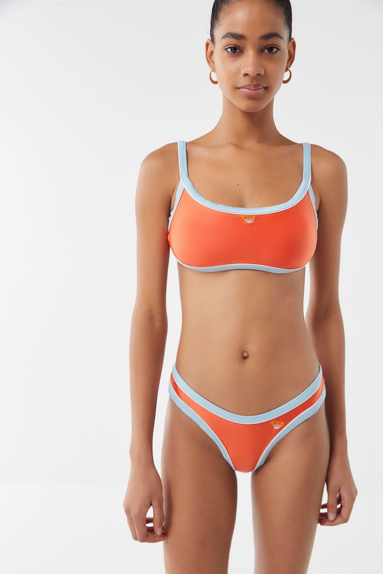 27ce31b43c Roxy UO Exclusive High-Leg Bikini Bottom in 2019   Styles   High leg ...