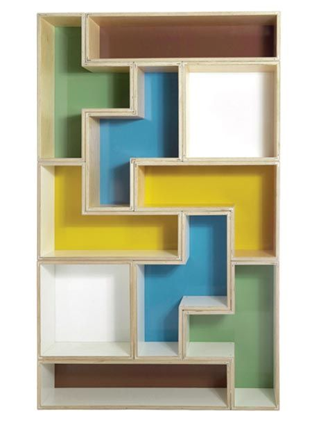 Tetris Shelves 4   How Cool Would These Be?