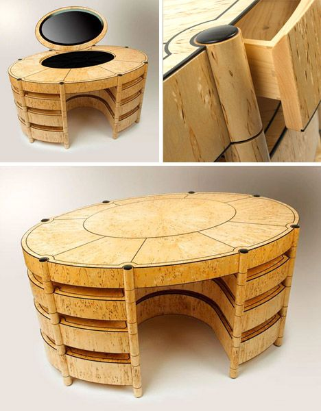 unique wooden furniture. Peter Rolfe, Artisan Http://dornob.com/craftastic-3- · Unique Woodworking Wood DresserWooden DeskWood FurnitureFurniture Wooden Furniture