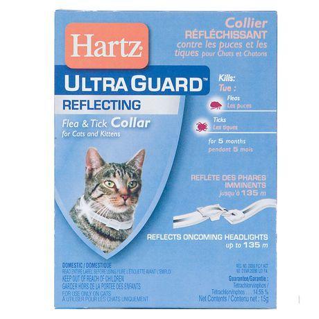 Hartz Ultraguard Reflective Flea Tick Collar For Cats Kittens