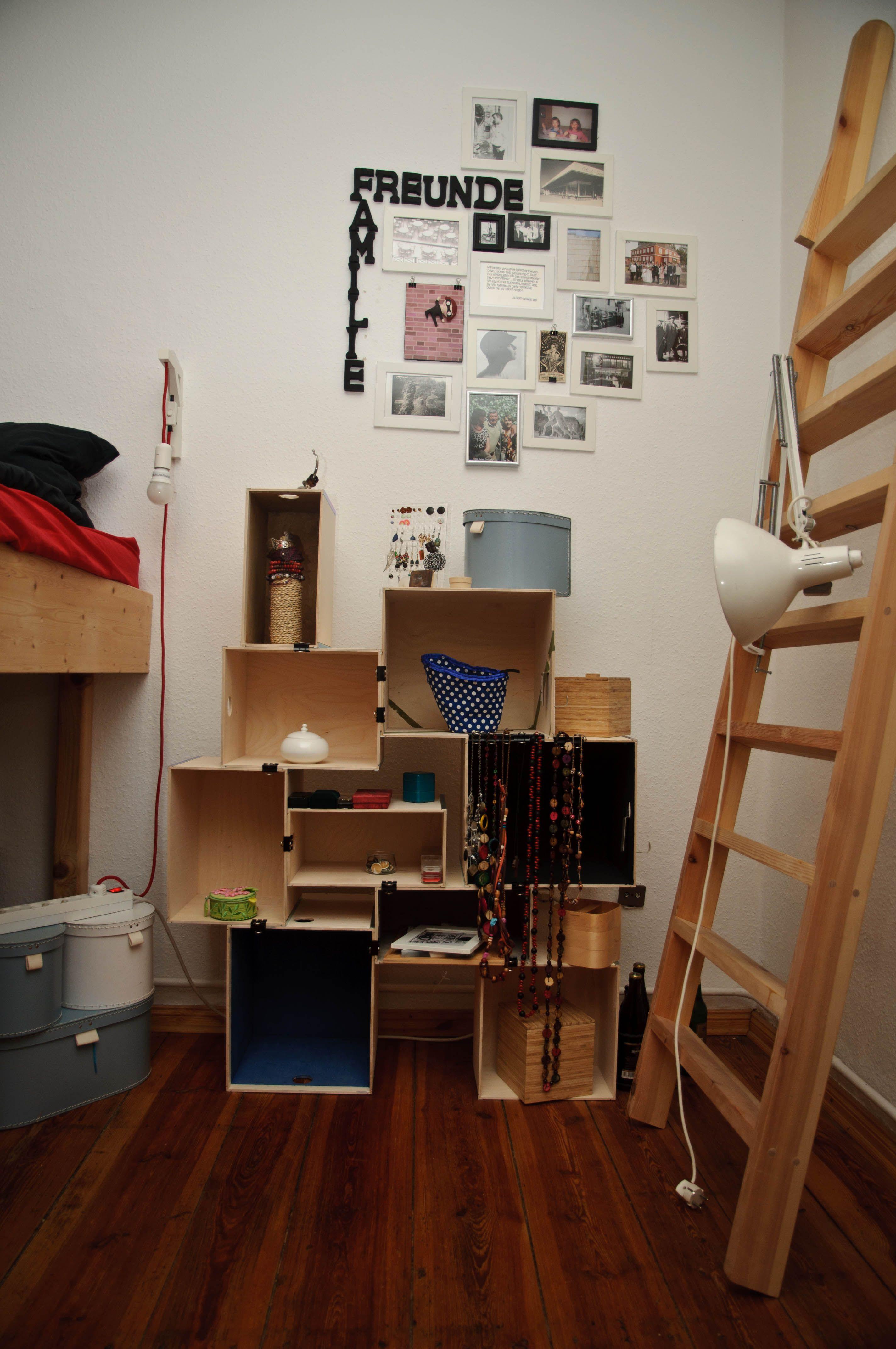 Fesselnde Coole Nachttischlampe Sammlung Von Nachttischlampe, Fotowand, Ikea-hack Nachttisch. Buchstaben Aus Holz