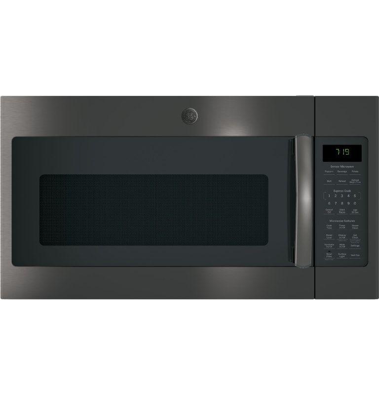 Ge Jvm7195 Microwave Black Stainless Steel Microwave Oven