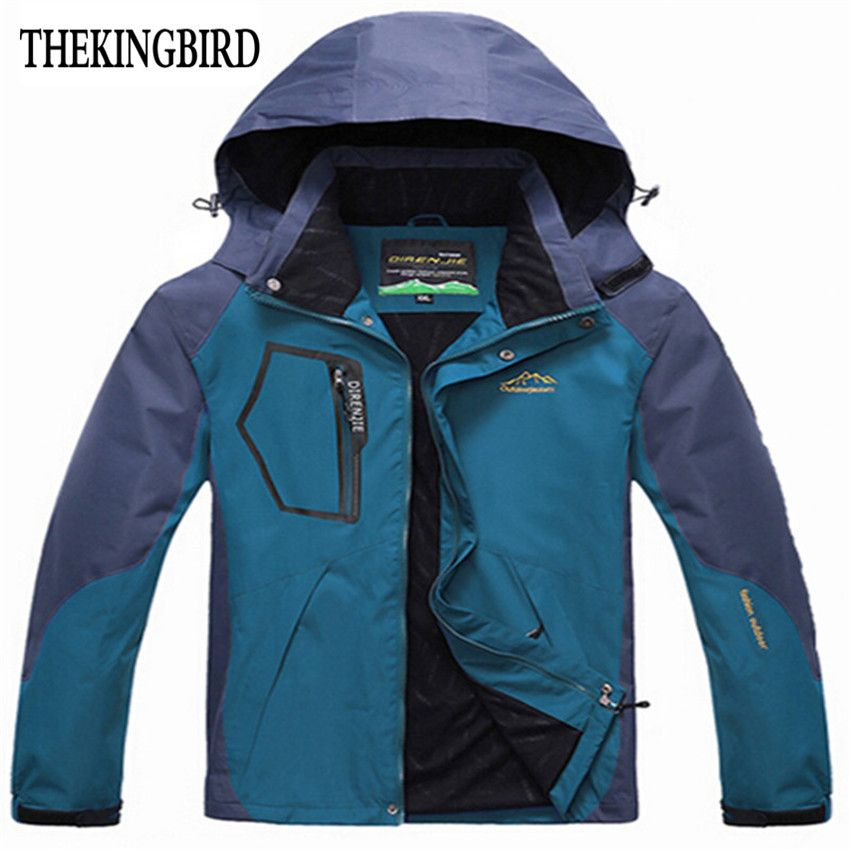 Blue Windbreaker Men jacket 2016 New Windbreaker Vestes pour Hommes Spring  Autumn im Freien Jacket Thin d92f93cbc1