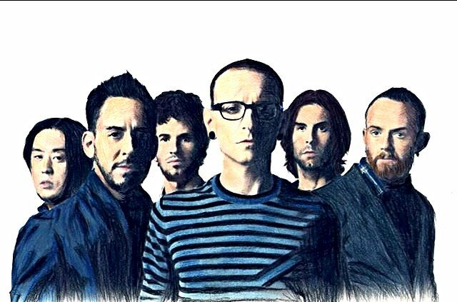 Really Awesome drawing of Linkin Park! kslp