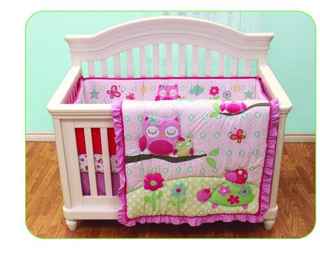 Garanimals Sleepy Time Owl 3 Peice Crib Set available from Walmart ...