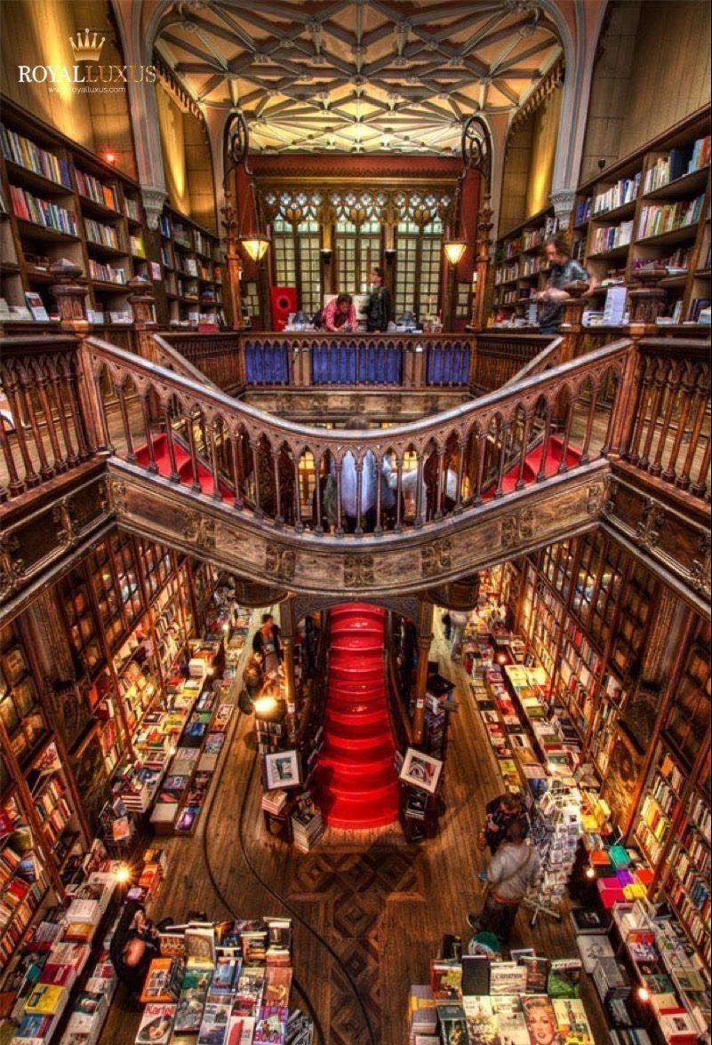 Lello Porto Traum Bibliothek Bibliotheksarchitektur Alte Bibliotheken