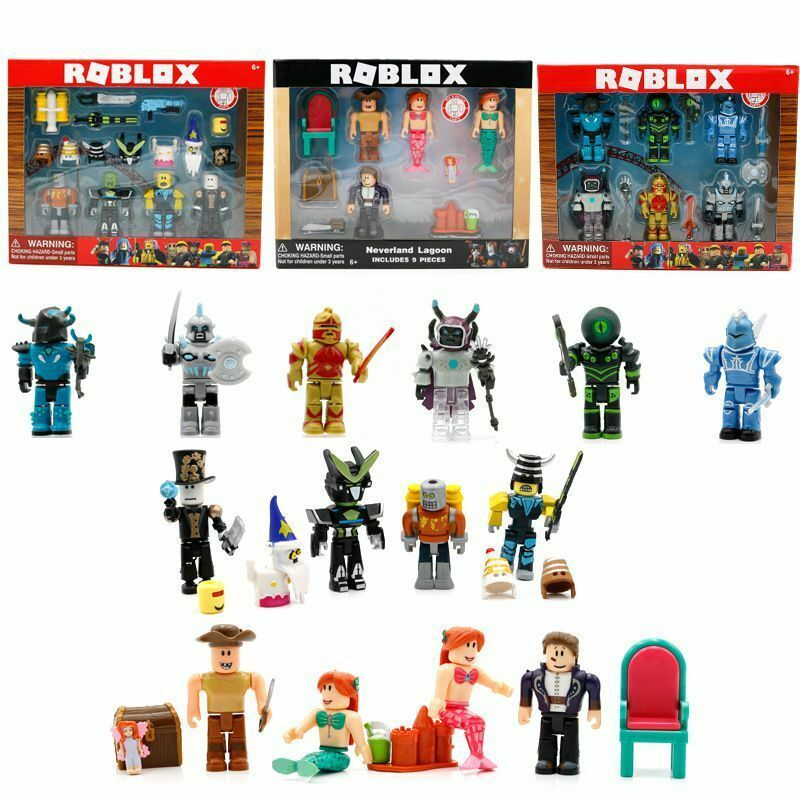 Roblox Toolbox Toy Game Roblox Figures 4pcs 6pcs 9pcs Set Pvc Toy Mini Box Package Kids Xmas Gift Toys Uk New Kids Toys Roblox