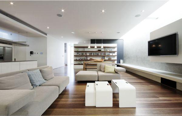 Theater Room Contemporary Decor Living Room Contemporary Living Room Design Living Room Decor Modern This contemporary family room design